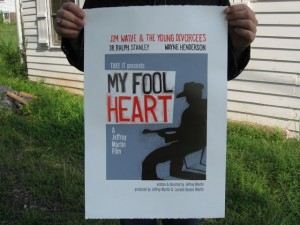 My Fool Heart Poster by Caroline Stirling (LINA)