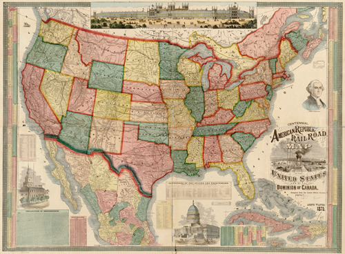 MY FOOL HEART American Cities Tour Feature Film Live Music - Old us railroad map